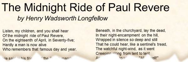 henry wadsworth longfellow facts