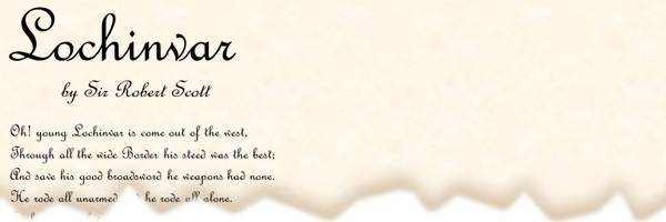 printable poetry template in Script font