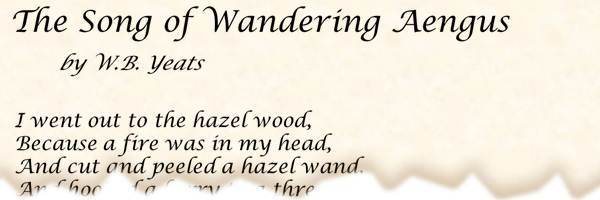 the song of the wandering aengus pdf
