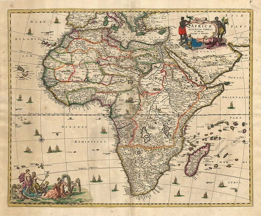 Online jigsaw puzzle map of africa puzzle image gumiabroncs Images