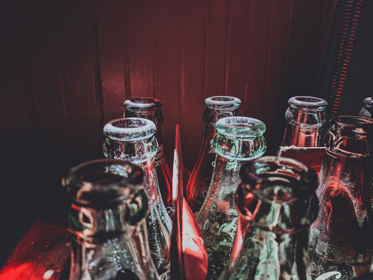 Online Jigsaw Puzzle - Old Coca Cola Bottles