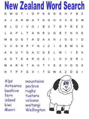 Printable Word Searches For New Mexico Free
