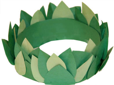 Laurel Or Olive Leaf Crown