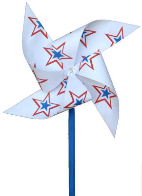 Fourth of July Pinwheel Craft