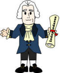 Thomas Jefferson paper doll craft
