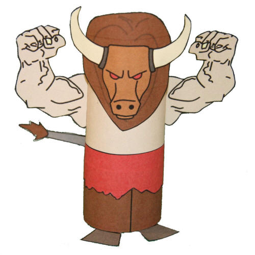 Minotaur Greek Mythology Craft