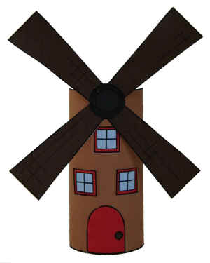 windmill craft - Dtlk Kids Crafts
